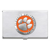 Clemson Tigers Business Card Case Set