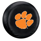 Clemson Tigers Black Spare Tire Cover