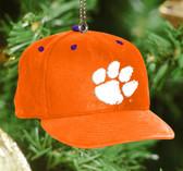 Clemson Tigers Baseball Cap Ornament