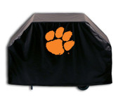 """Clemson Tigers 72"""" Grill Cover"""