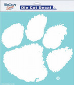 "Clemson Tigers 8""x8"" Die-Cut Decal"