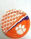 "Clemson Tigers 7"" Dessert Paper Plates"