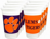 Clemson Tigers 16 oz. Cups