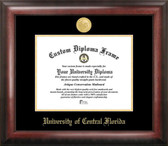 Central Florida Goden Knights Gold Embossed Diploma Frame