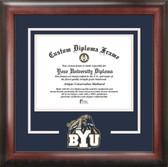 BYU Cougars Spirit Diploma Frame