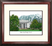 Brigham Young University Alumnus Framed Lithograph