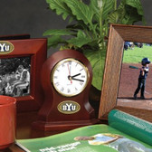 Brigham Young Cougars Desk Clock