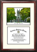 Boston College Scholar Framed Lithograph with Diploma