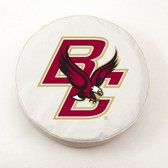 Boston College Eagles White Tire Cover, Large