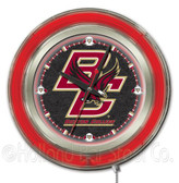 Boston College Eagles Neon Clock