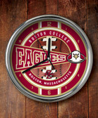 Boston College Eagles Chrome Clock