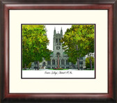 Boston College Alumnus Framed Lithograph