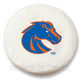 Boise State Broncos White Tire Cover, Large