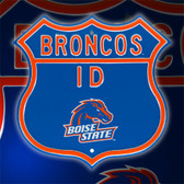Boise State Broncos Route Sign