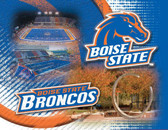 Boise State Broncos Printed Canvas