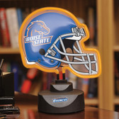Boise State Broncos Neon Helmet Desk Lamp