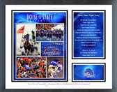 Boise State Broncos Milestones & Memories Framed Photo