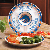 Boise State Broncos Ceramic Chip n Dip Server