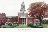 Baylor University Lithograph
