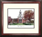 Baylor University Alumnus Framed Lithograph