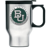 Baylor Bears Stainless Steel Travel Mug