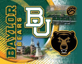 Baylor Bears Printed Canvas