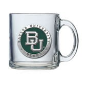 Baylor Bears Colored Logo Clear Coffee Mug Set