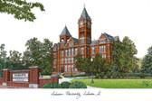 Auburn University Lithograph