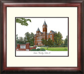 Auburn University Alumnus Framed Lithograph