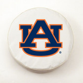 Auburn Tigers White Tire Cover, Small