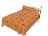 Auburn Tigers Solid Sheet Set (King)