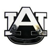 Auburn Tigers Silver Auto Emblem