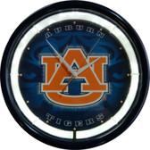 Auburn Tigers Plasma Clock