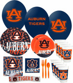 Auburn Tigers Party Supplies Pack #3