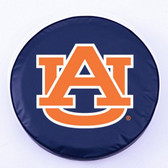 Auburn Tigers Navy Tire Cover, Large