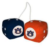 Auburn Tigers Fuzzy Dice