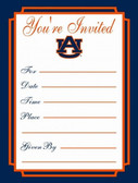 Auburn Tigers Formal Invitations