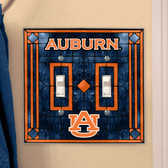 Auburn Tigers Double Lightswitch Cover