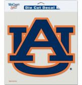 "Auburn Tigers Die-Cut Decal - 8""x8"" Color"