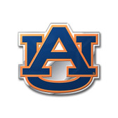 Auburn Tigers Color Auto Emblem - Die Cut