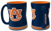 Auburn Tigers Coffee Mug - 15oz Sculpted