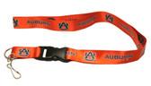 Auburn Tigers Breakaway Lanyard with Key Ring