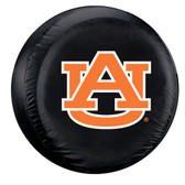 Auburn Tigers Black Spare Tire Cover