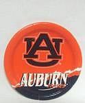 """Auburn Tigers 7"""" Dessert Paper Plates"""