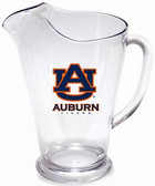 Auburn Tigers 64 oz. Crystal Clear Plastic Pitcher