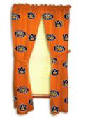 """Auburn Tigers 42"""" x 84"""" Curtain Panels"""