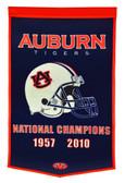 """Auburn Tigers 24""""x36"""" Wool Dynasty Banner"""