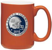 Auburn Tigers 2010 BCS National Champions Orange Coffee Mug Set