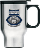 Auburn Tigers 2010 BCS National Champions Football Logo Travel Mug