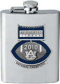 Auburn Tigers 2010 BCS National Champions Football Logo Stainless Steel Flask